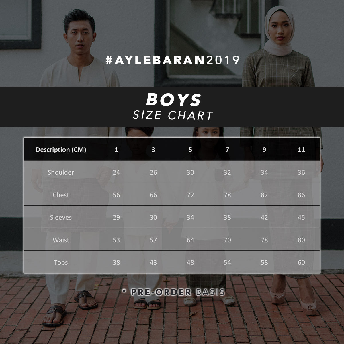 #AYLEBARAN2019 Kids BLUE Sets