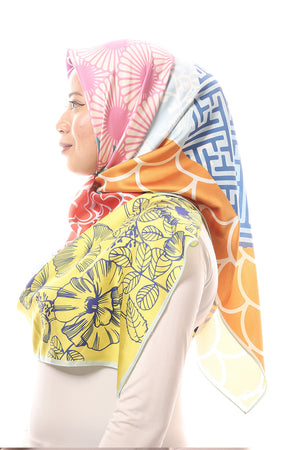 #AYJAPAN Bawal Scarf in Blue