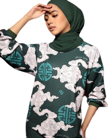 #AYCHINA Beijing Sweatshirt in Green