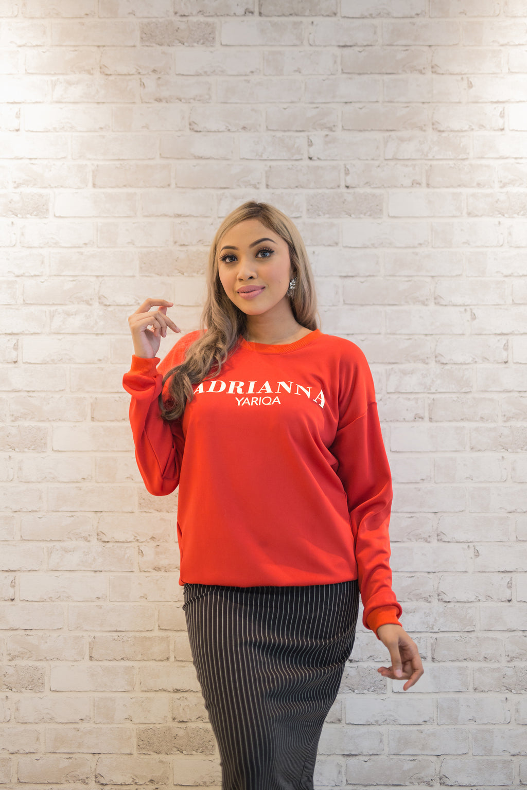 World Cup Sweatshirt in Red