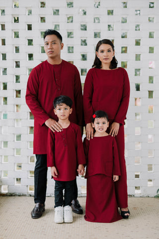 #AYLEBARAN2019 Kids RED KURTA Sets