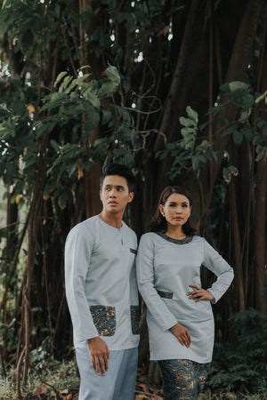 #AYLEBARAN2019 Adult LIGHT BLUE BROCADE Sets