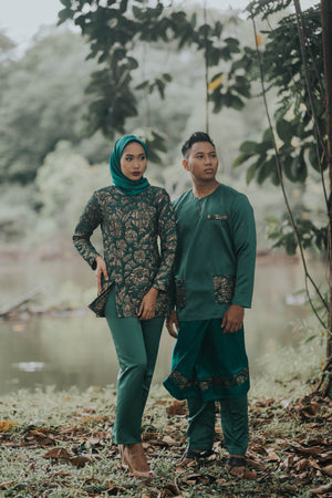 #AYLEBARAN2019 Adult GREEN BROCADE Sets