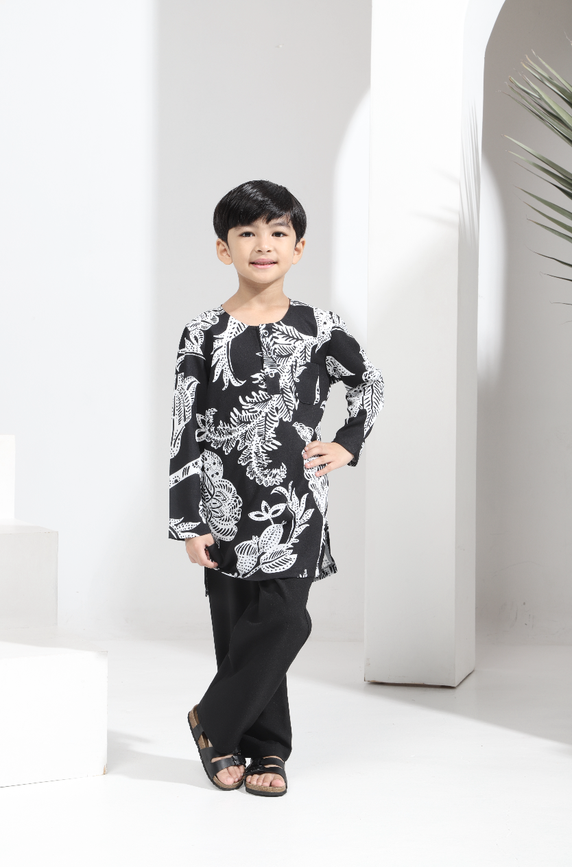 AYLEBARAN 2021 Kids Kurta in Almond London