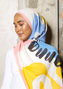 #AYSHAWL in Peach