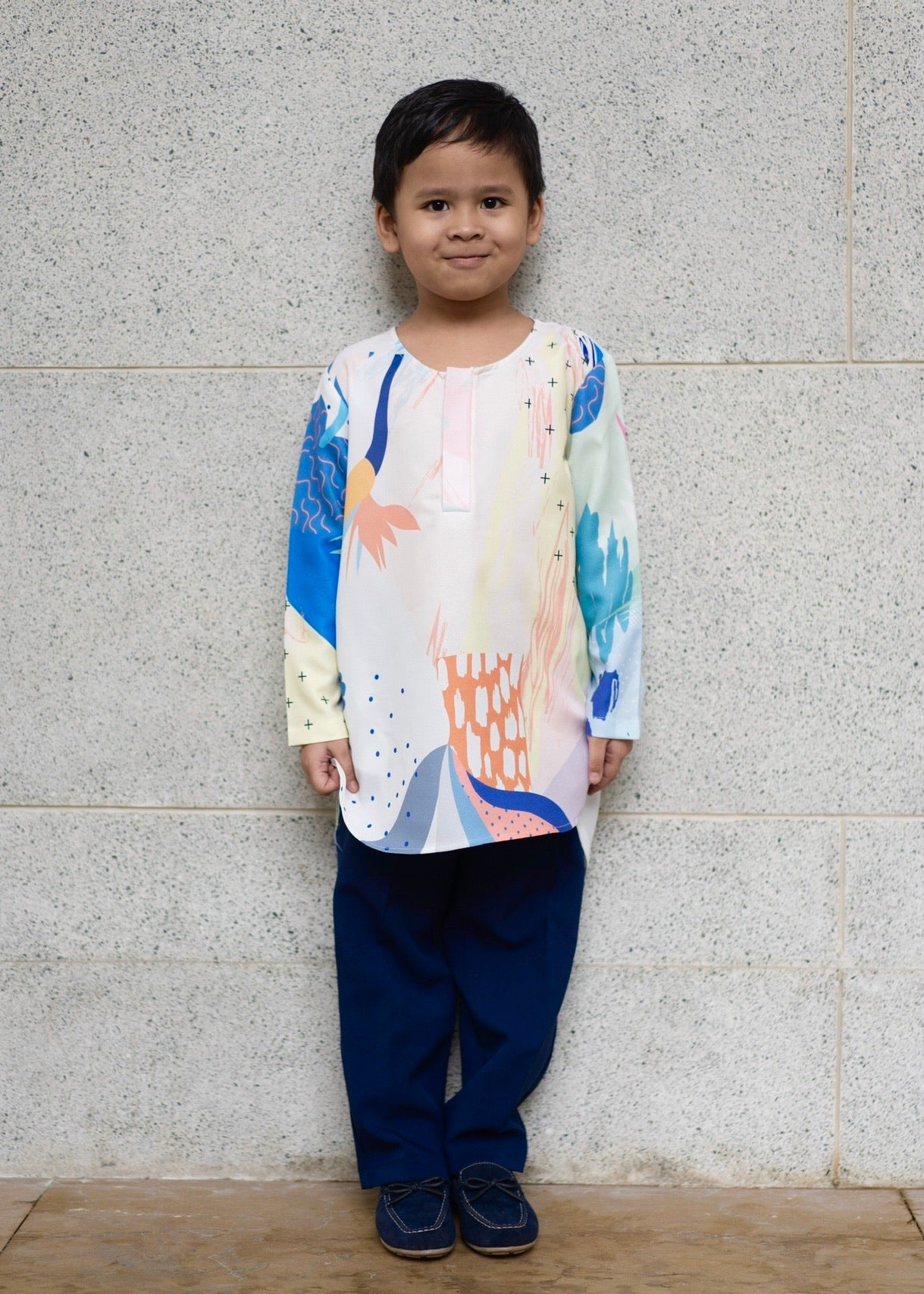 #AYLEBARAN2020 Kids Kurta in Navy