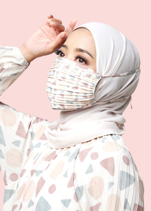 Variasi Face Mask Geo in Nude