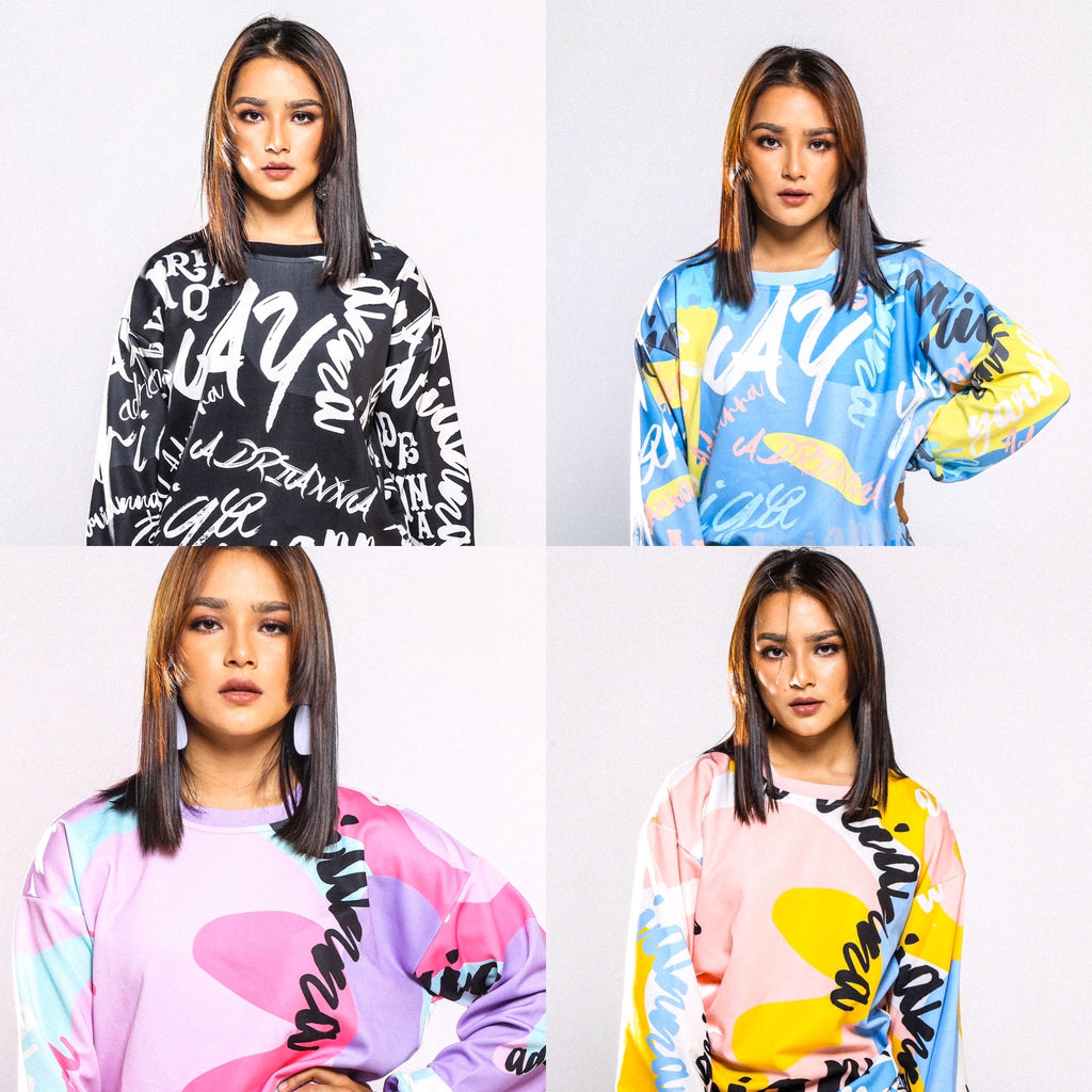 #AYSweatshirt COMBO All 4 Colors