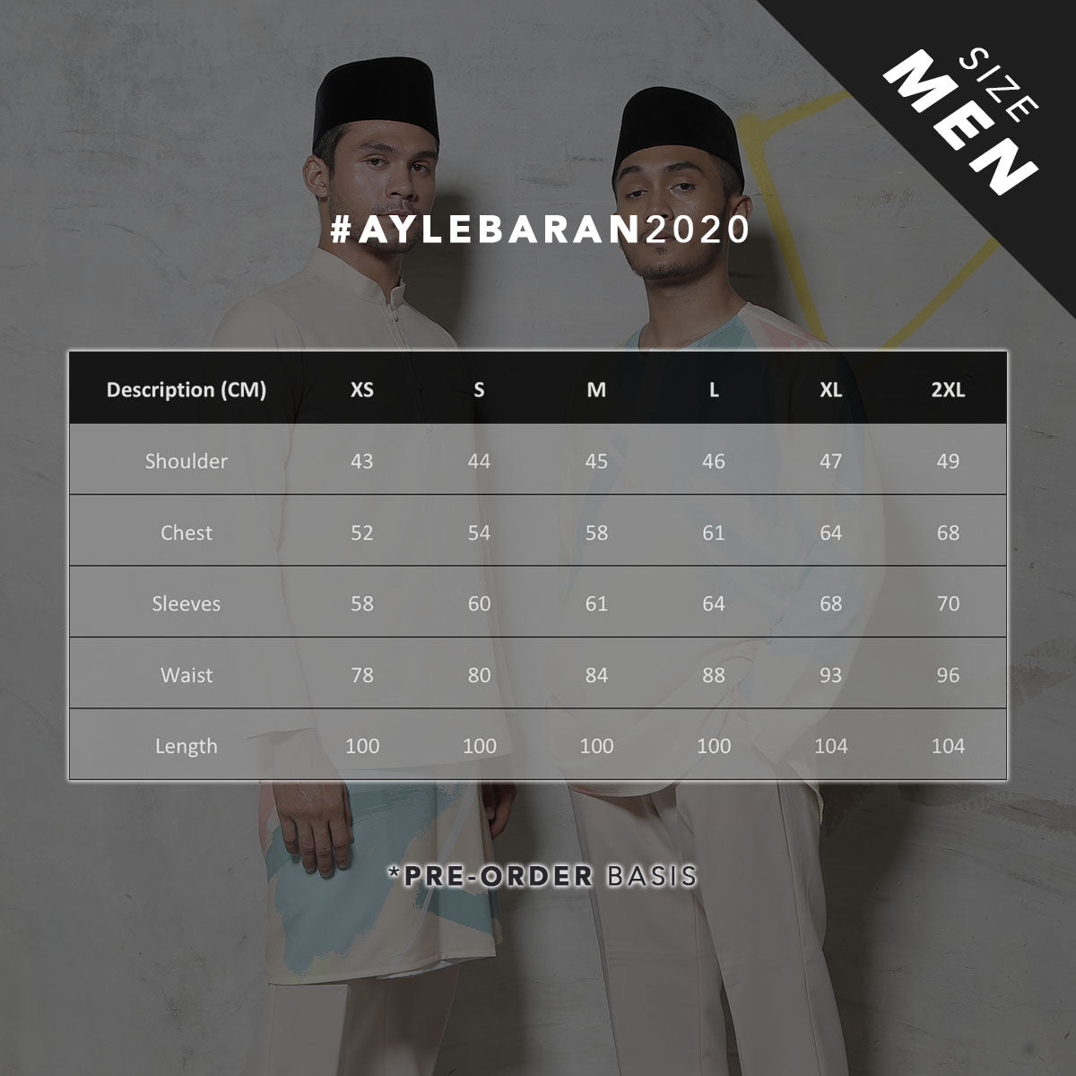 #AYLEBARAN2020 Men's Kurta in Navy
