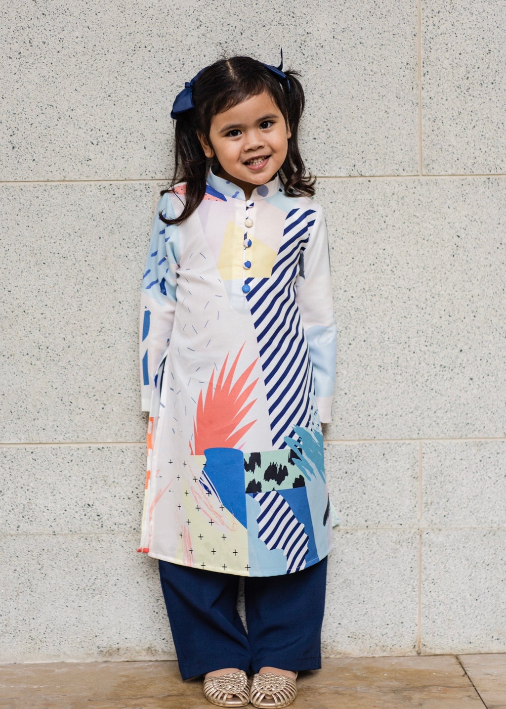#AYLEBARAN2020 Kids Pantsuit in Navy