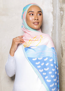 #AYLEBARAN2020 Shawl in Mint