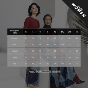 AYLEBARAN 2021 Mini Kurung in Mama Carrie