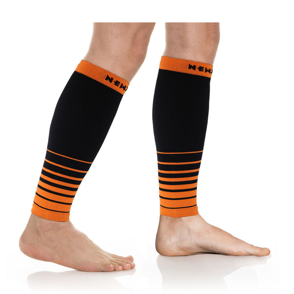 CALF, i-Black/Orange (20-30mmHg)