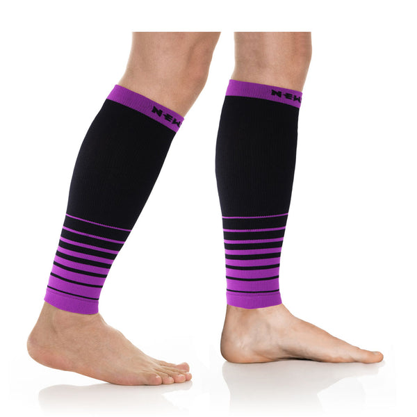 CALF, i-Black/Purple (20-30mmHg)