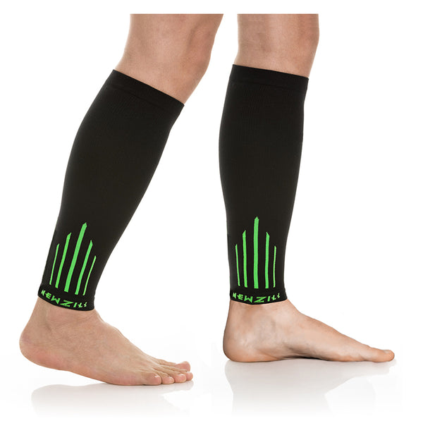 CALF, BlACK/GREEN (20-30mmHg)