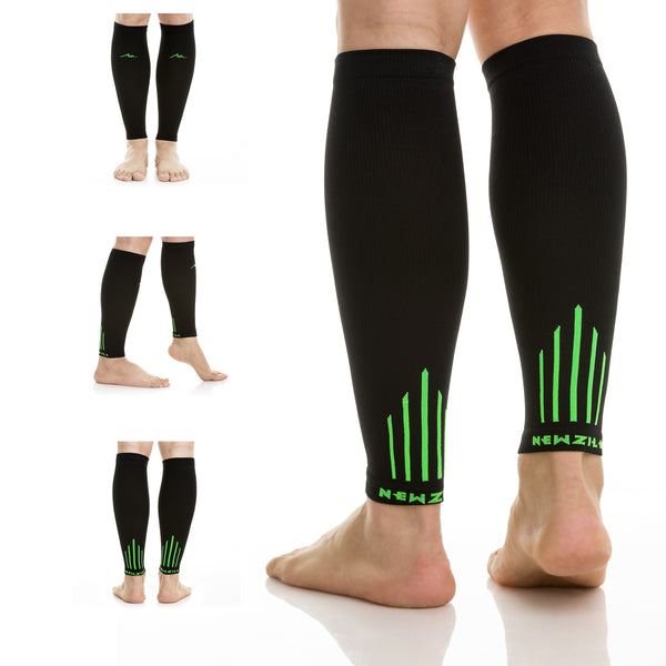 CALF, BlACK/GREEN