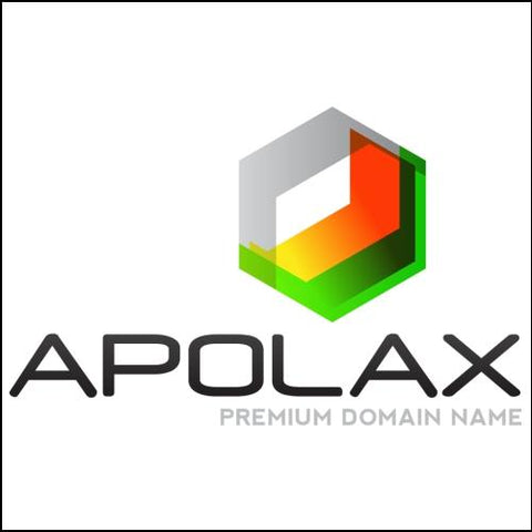 Image of Apolax Domain and Red/ Black Logo for Sale by DnCore