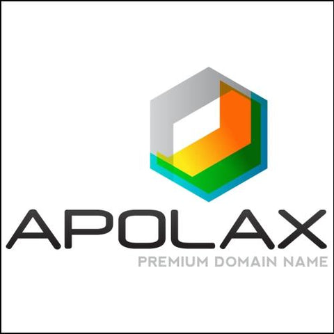 Apolax Domain and Yellow / Green Logo for Sale by DnCore