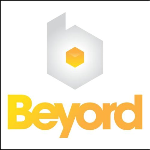 Image of Beyord.com Domain with Black Logo for Sale at DnCore Domains