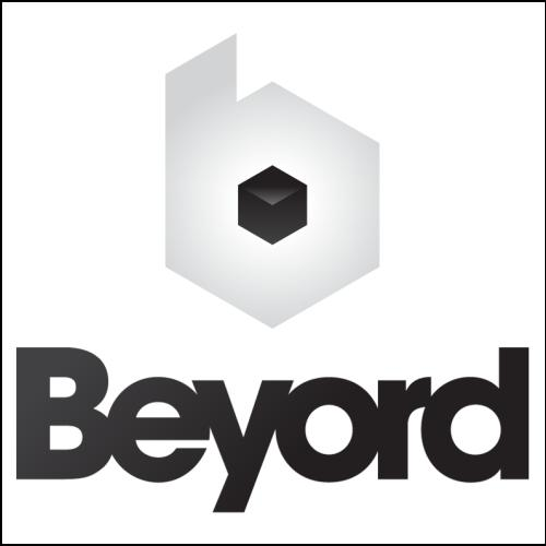 Beyord.com Domain with Black Logo for Sale at DnCore Domains