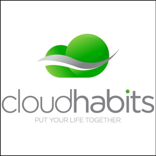 Cloudhabits Domain and Logo for sale by DnCore