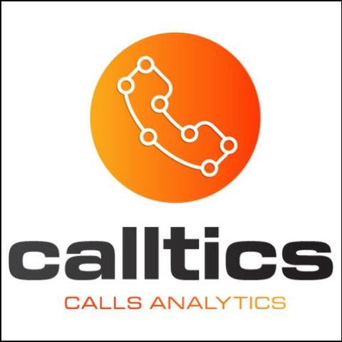 Image of Calltics Domain and Logo for sale on DnCore.com