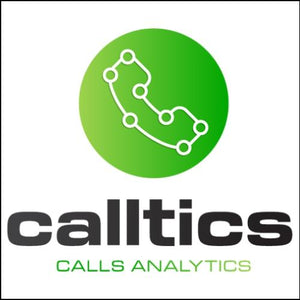 CallTics.com Domain and Logo