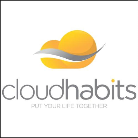 Image of Cloudhabits Domain and Logo for sale by DnCore