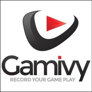 Gamivy.com Domain and Logo