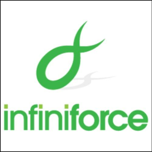 InfiniForce Domain and Logo for Sale by DnCore