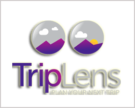 TripLens Domain and Logo for sale by DnCore