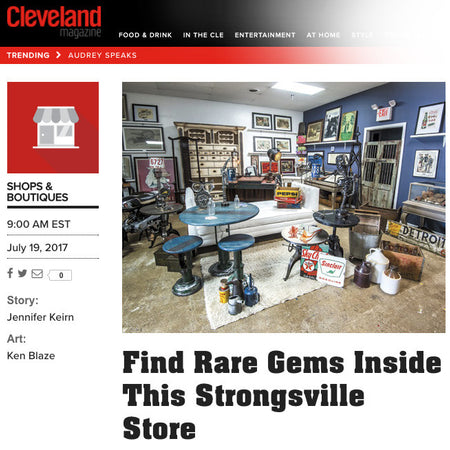 Featured In Cleveland Magazine
