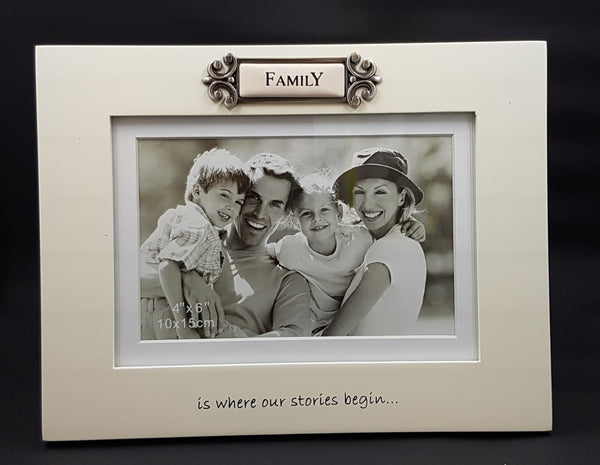Family - Is Where Our Stories Begin