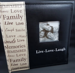 Live, Love, Laugh Photo Album