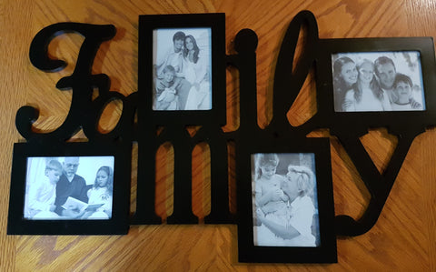 Family Photo Wall Hanger
