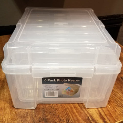 Photo Keeper Storage Box