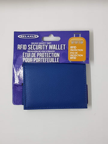 RFID Security Wallet - Get Set 2 Go
