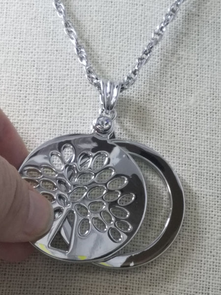 Tree of Life Necklace with Magnifying Glass
