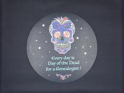 Every Day Is The Day Of The Dead For Genealogists Mouse Pad