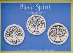 Basic Spirit Pewter Magnets