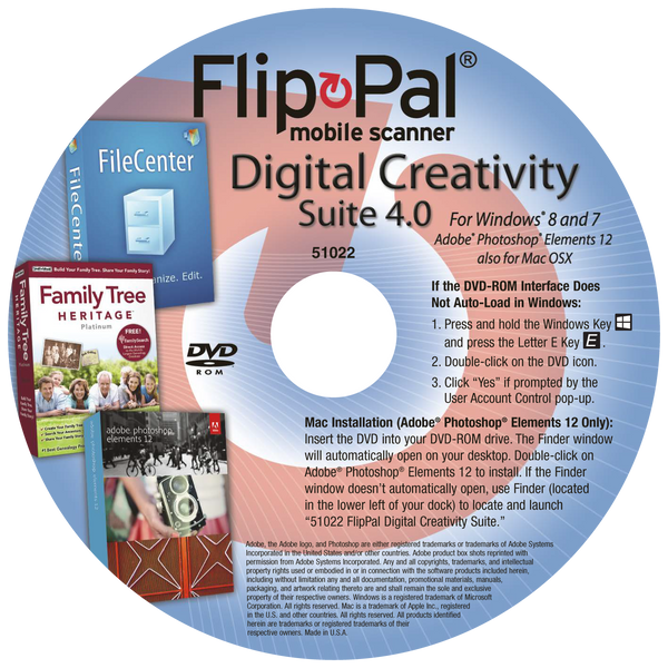Flip-Pal Digital Creativity Suite 4.0
