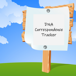 FREE DNA Correspondence Tracker