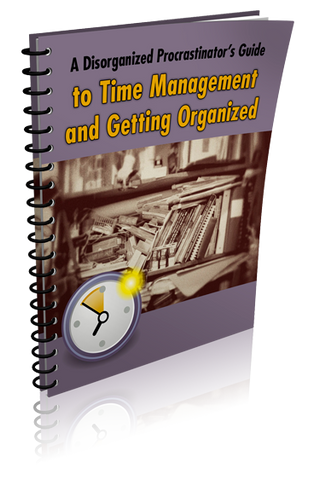E-Book: A Disorganized Procrastinator's Guide to Time Management and Getting Organized