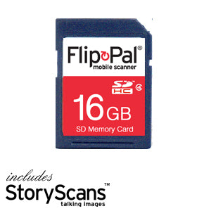 16GB Memory Card With Toolbox 4 (incl. StoryScans)