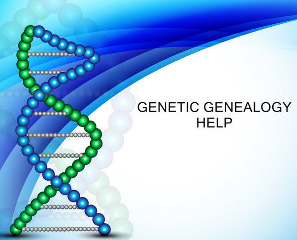 Genetic Genealogy Help (DNA)