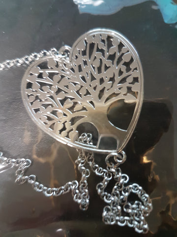 Tree of Life In Heart Shape