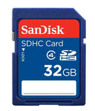 SanDisk Class 4 SDHC Flash Memory Card (Various Sizes)