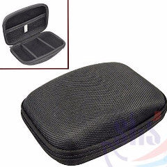 Hard Zipper Protective Travel Case
