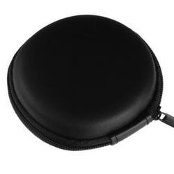 Hard Circular Carrying Case