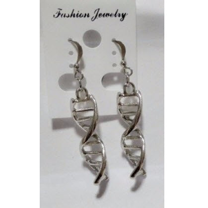 DNA Double-Helix Earrings